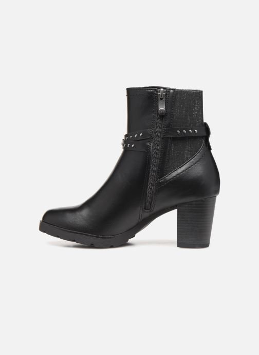 Ankle boots Marco Tozzi 2-2-25829-23 002 Black front view