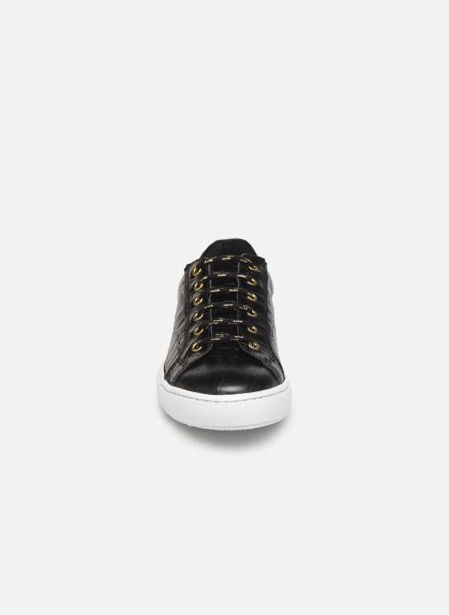 Sneaker COSMOPARIS VIVEA/CROC schwarz schuhe getragen
