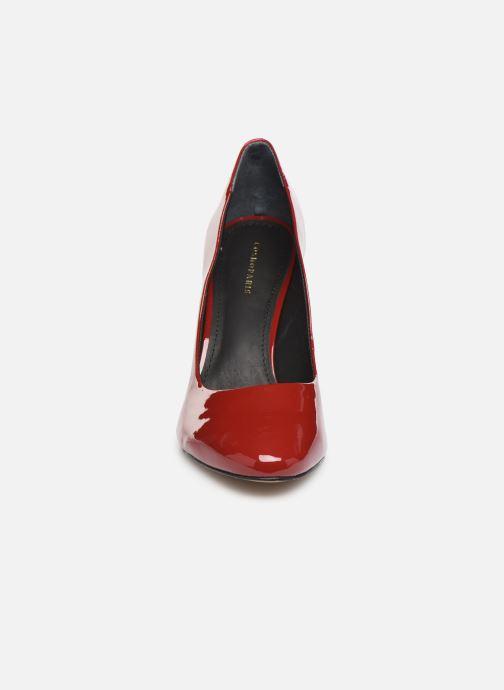 Escarpins COSMOPARIS JOANNA/VER Rouge vue portées chaussures
