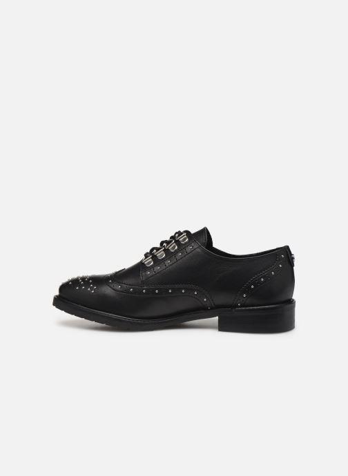 Zapatos con cordones COSMOPARIS VIVINETTE Negro vista de frente