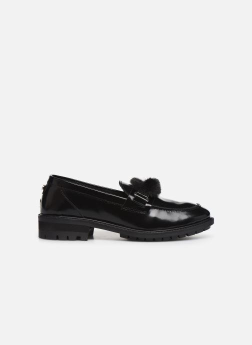 Loafers COSMOPARIS VIVIANE/FUR Black back view