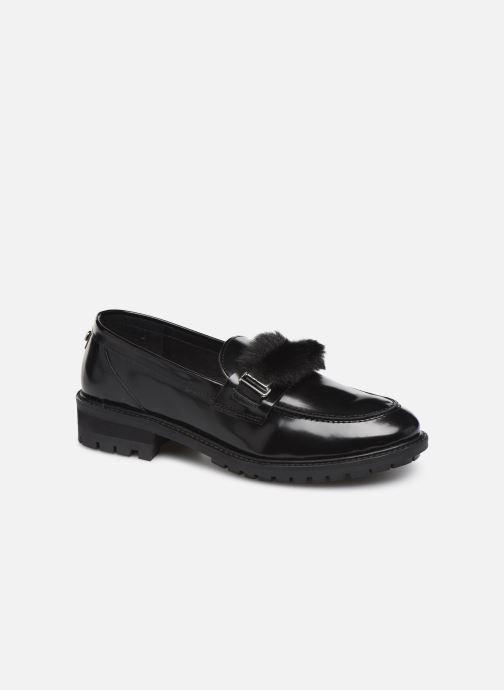 Loafers COSMOPARIS VIVIANE/FUR Black detailed view/ Pair view