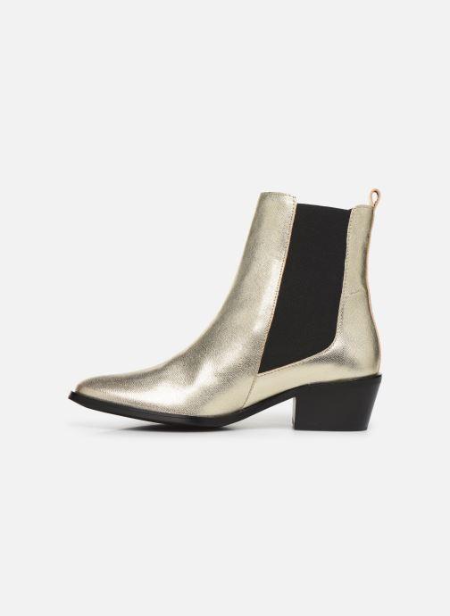 Boots en enkellaarsjes COSMOPARIS FINATO/MET Goud en brons voorkant