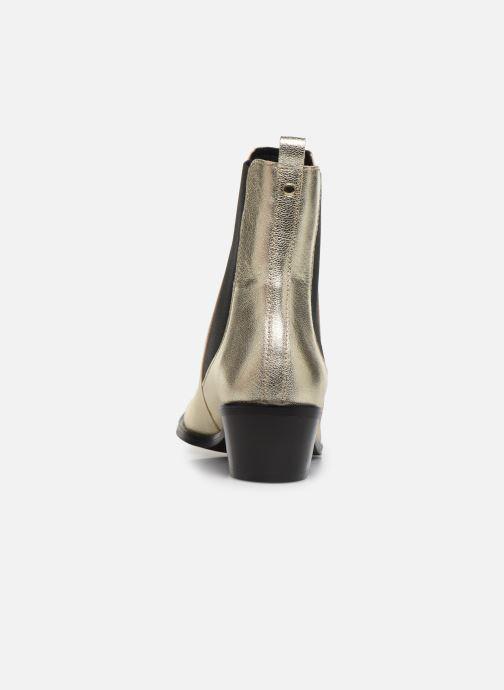 Bottines et boots COSMOPARIS FINATO/MET Or et bronze vue droite