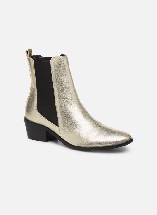 Bottines et boots COSMOPARIS FINATO/MET Or et bronze vue détail/paire