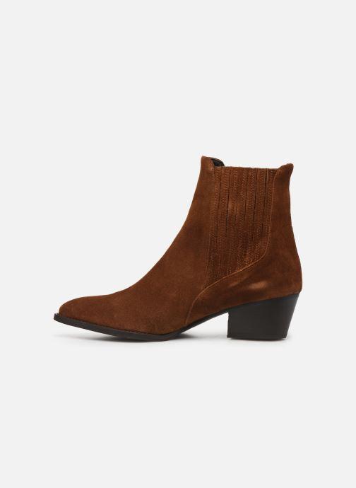Bottines et boots COSMOPARIS SAN DIEGO/VEL Marron vue face