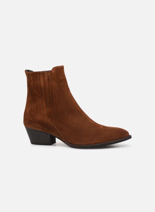 Bottines et boots COSMOPARIS SAN DIEGO/VEL Marron vue derrière