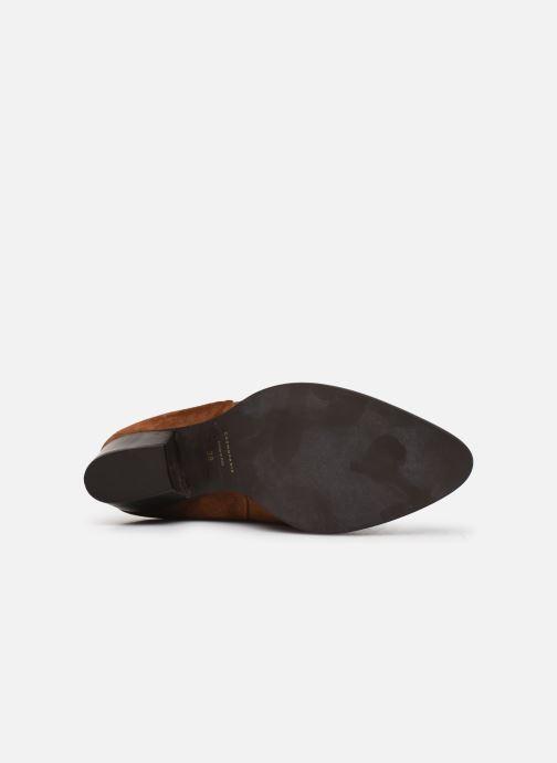 Bottines et boots COSMOPARIS SAN DIEGO/VEL Marron vue haut