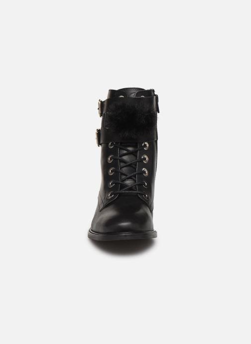 Bottines et boots COSMOPARIS VIFEUR/FUR Noir vue portées chaussures
