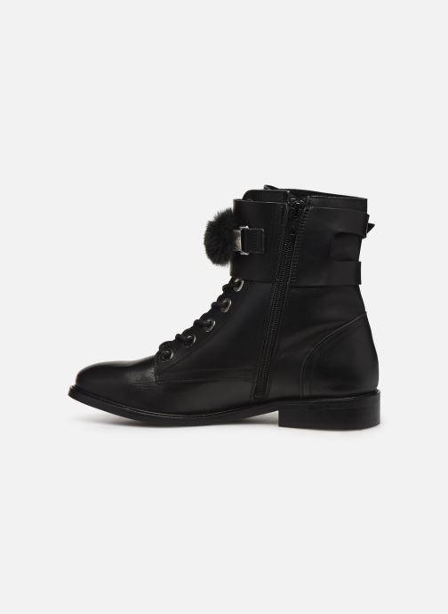 Bottines et boots COSMOPARIS VIFEUR/FUR Noir vue face