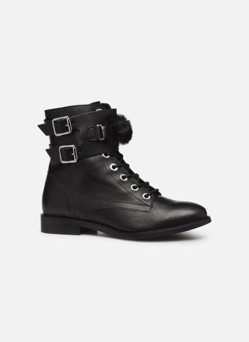 Bottines et boots COSMOPARIS VIFEUR/FUR Noir vue derrière