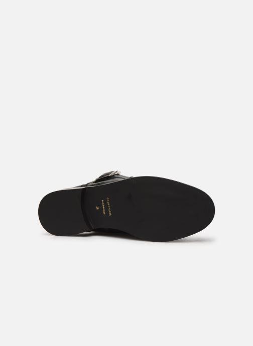 Bottines et boots COSMOPARIS VIFEUR/FUR Noir vue haut