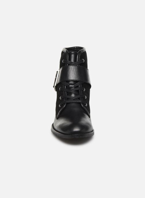 Bottines et boots COSMOPARIS FIGO Noir vue portées chaussures