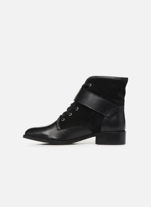 Bottines et boots COSMOPARIS FIGO Noir vue face