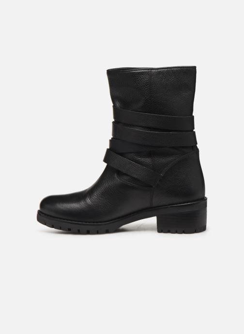 Bottines et boots COSMOPARIS KIBO/GR Noir vue face