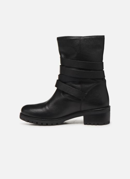 Bottines et boots COSMOPARIS KIBO/GR Noir vue face