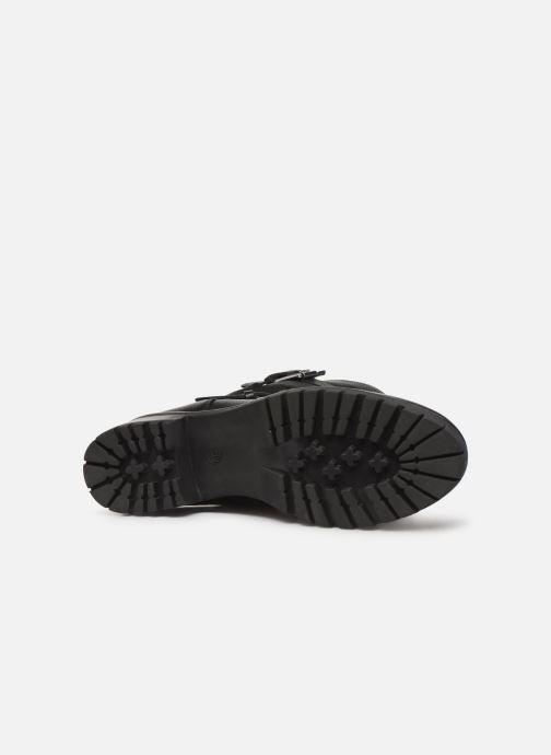 Bottines et boots COSMOPARIS KIBO/GR Noir vue haut
