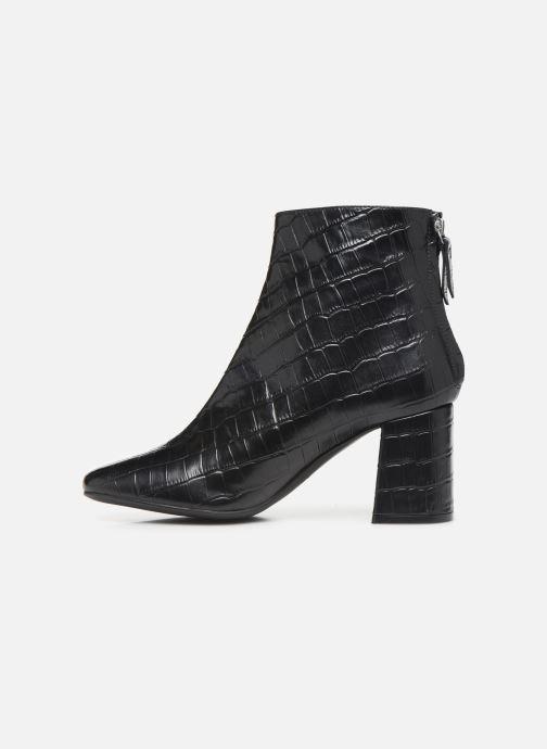 Bottines et boots COSMOPARIS EPOC/CROC Noir vue face