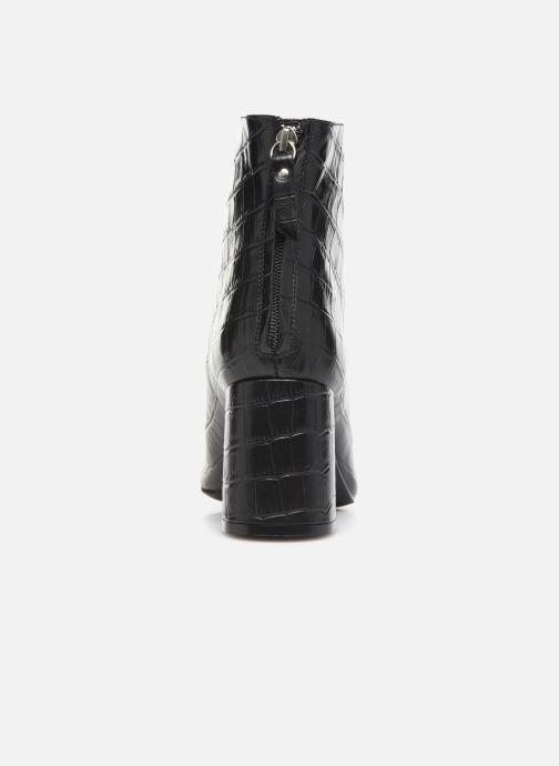 Bottines et boots COSMOPARIS EPOC/CROC Noir vue droite