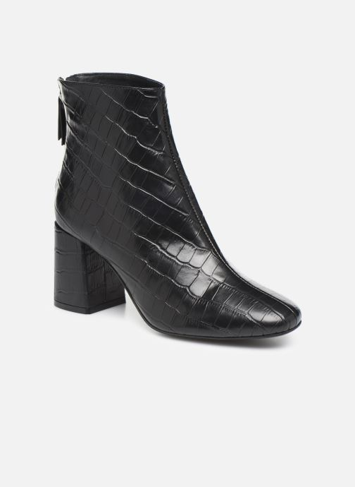 Bottines et boots COSMOPARIS EPOC/CROC Noir vue détail/paire