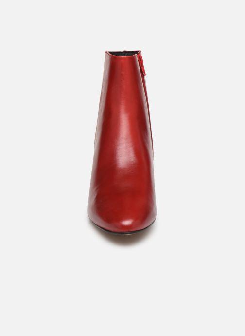 Bottines et boots COSMOPARIS VEXICO Rouge vue portées chaussures