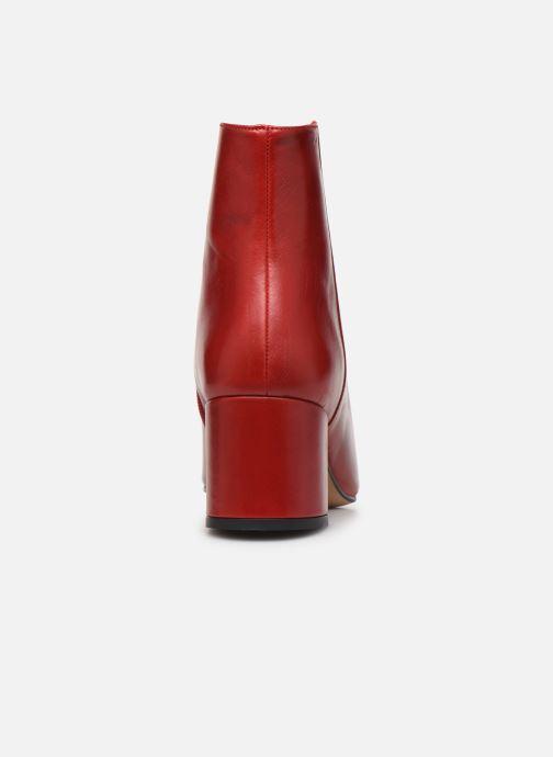 Bottines et boots COSMOPARIS VEXICO Rouge vue droite