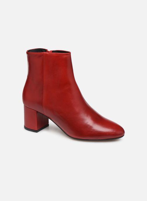 Bottines et boots COSMOPARIS VEXICO Rouge vue détail/paire