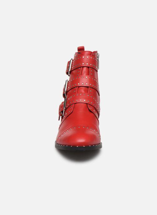Bottines et boots COSMOPARIS GALATEA Rouge vue portées chaussures