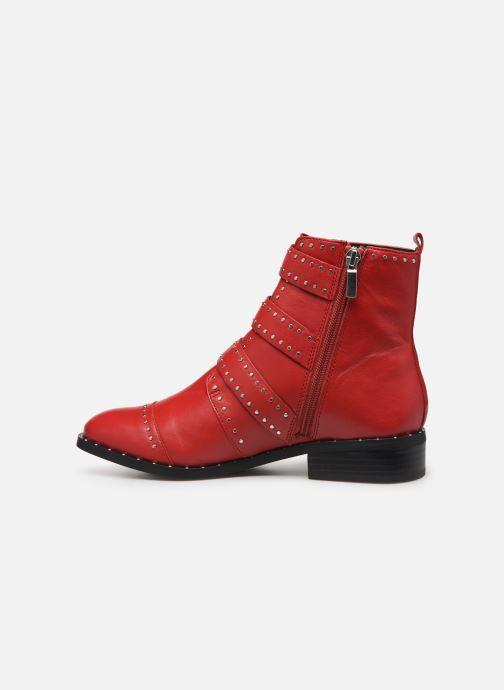 Boots en enkellaarsjes COSMOPARIS GALATEA Rood voorkant