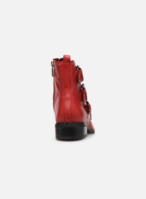 Boots en enkellaarsjes COSMOPARIS GALATEA Rood rechts