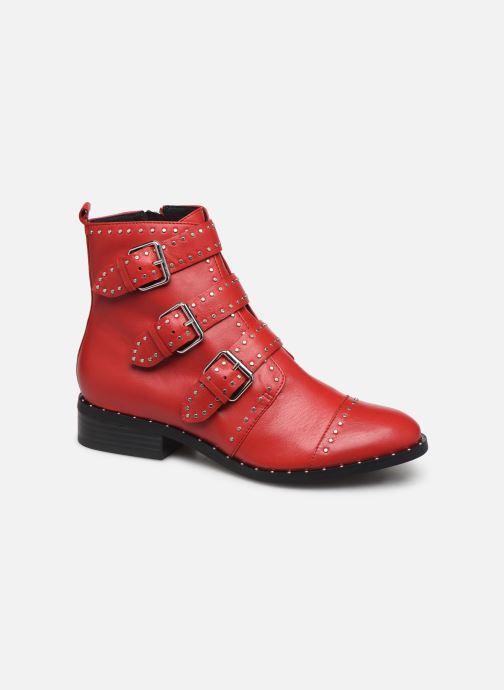 Boots en enkellaarsjes COSMOPARIS GALATEA Rood detail