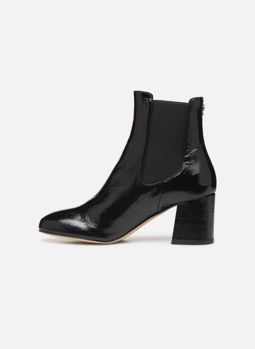 Bottines et boots COSMOPARIS LACADO/VER Noir vue face