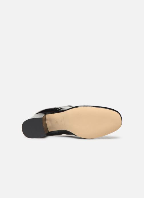 Bottines et boots COSMOPARIS LACADO/VER Noir vue haut