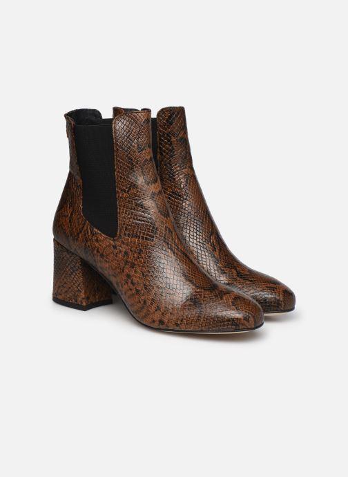 Bottines et boots COSMOPARIS LACADO/VER Marron vue 3/4