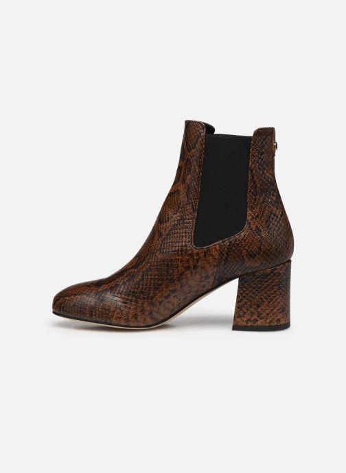 Bottines et boots COSMOPARIS LACADO/VER Marron vue face