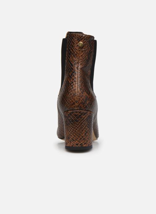 Bottines et boots COSMOPARIS LACADO/VER Marron vue droite