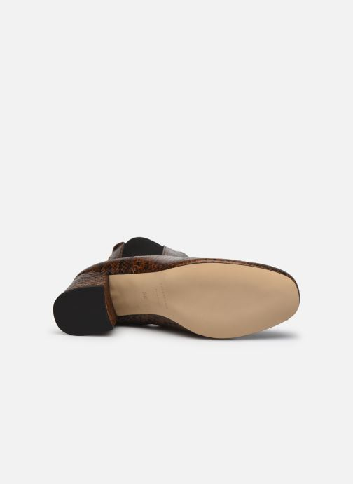 Bottines et boots COSMOPARIS LACADO/VER Marron vue haut