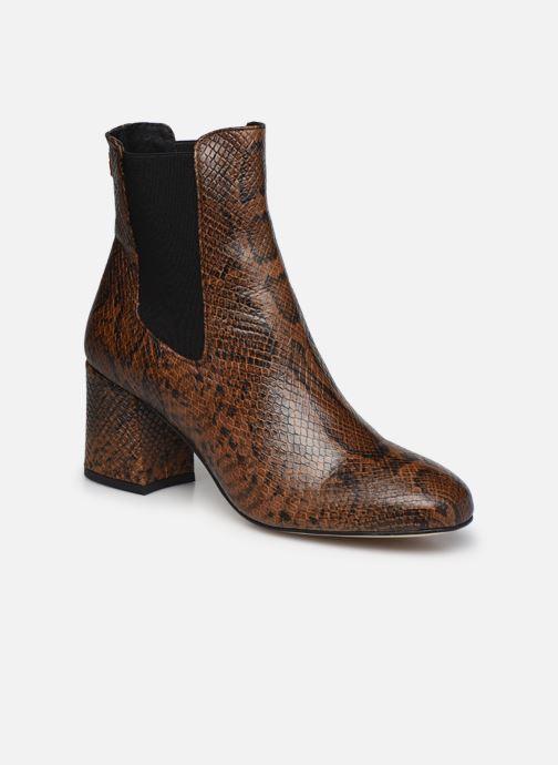 Bottines et boots COSMOPARIS LACADO/VER Marron vue détail/paire
