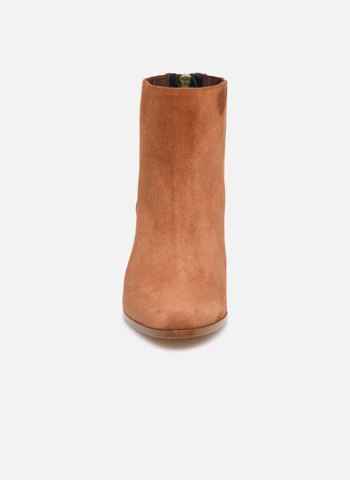 Bottines et boots COSMOPARIS SALIDA/VEL Marron vue portées chaussures