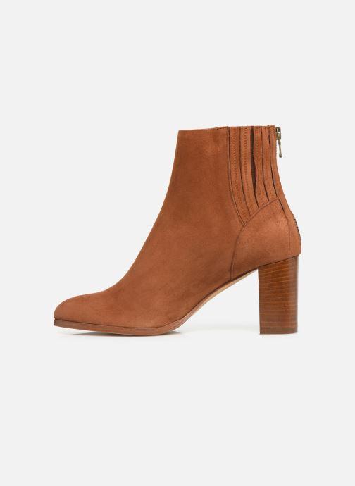 Bottines et boots COSMOPARIS SALIDA/VEL Marron vue face
