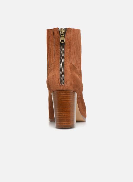 Bottines et boots COSMOPARIS SALIDA/VEL Marron vue droite