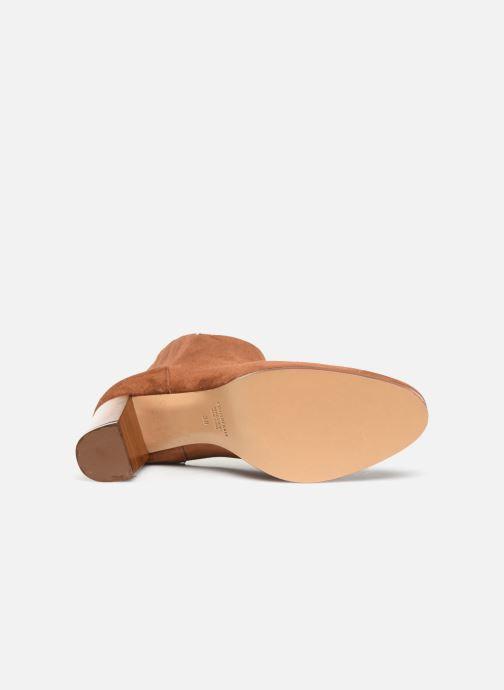 Bottines et boots COSMOPARIS SALIDA/VEL Marron vue haut