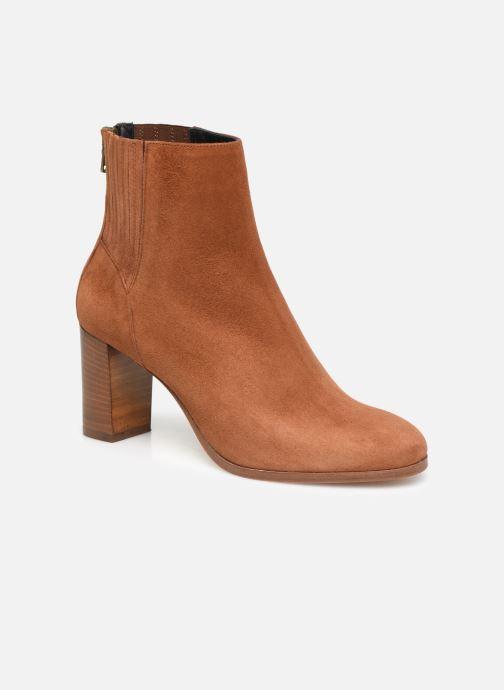 Bottines et boots COSMOPARIS SALIDA/VEL Marron vue détail/paire