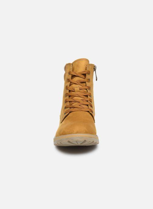 Bottines et boots Marco Tozzi 2-2-26231-23 611 Jaune vue portées chaussures