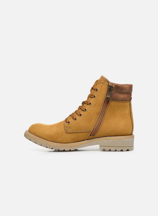 Boots en enkellaarsjes Marco Tozzi 2-2-26231-23 611 Geel voorkant