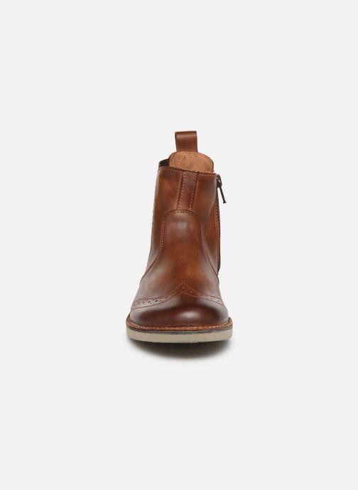 Bottines et boots Ricosta Dallas Marron vue portées chaussures