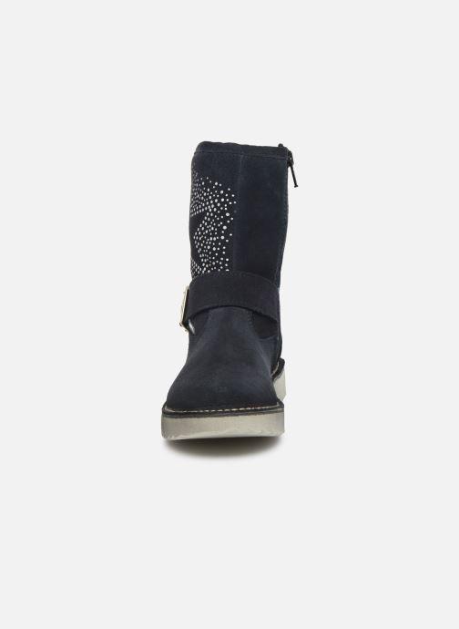 Bottes Ricosta Cosma-tex Bleu vue portées chaussures