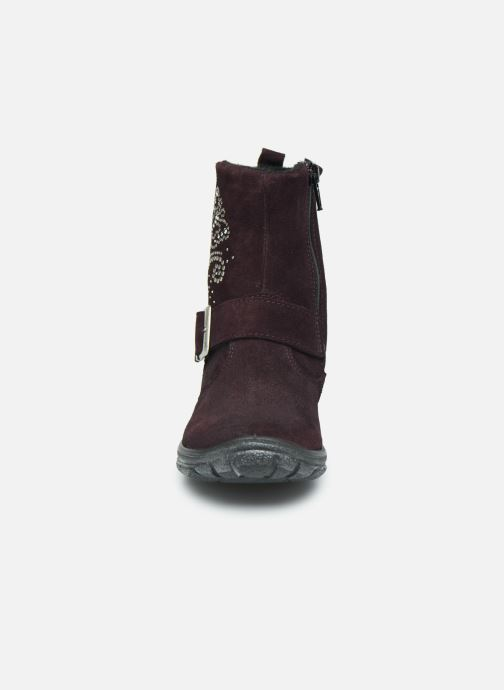 Bottes Ricosta Emmi-tex Violet vue portées chaussures