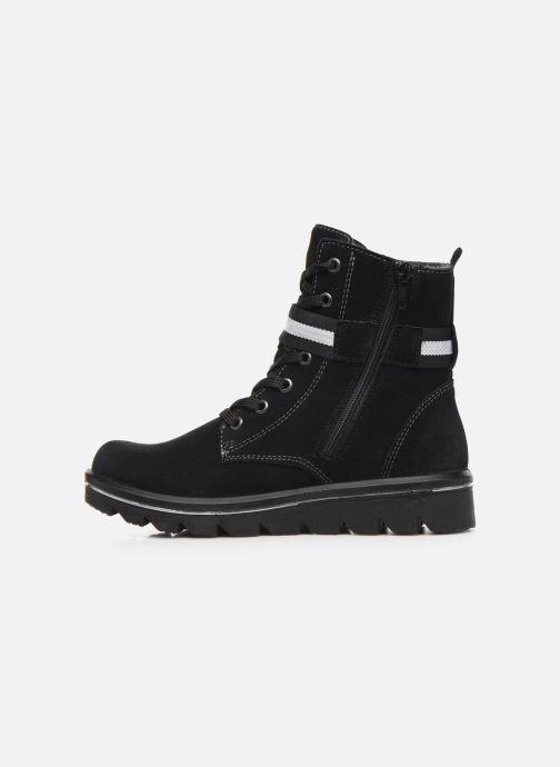 Bottines et boots Ricosta Ella-tex Noir vue face