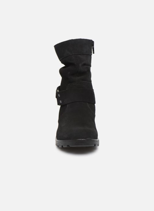 Bottes Ricosta Ricarda-tex Noir vue portées chaussures